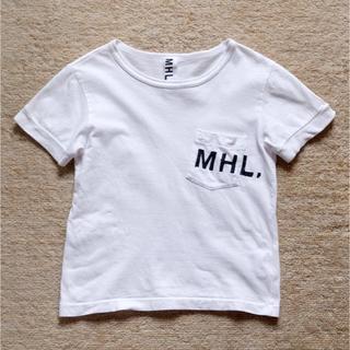 マーガレットハウエル(MARGARET HOWELL)のMHL ■ キッズロゴTシャツ 110cm(Tシャツ/カットソー)