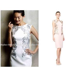タダシショウジ(TADASHI SHOJI)の新品 M/13 タダシショージ ワンピース ドレス ピンク(ひざ丈ワンピース)