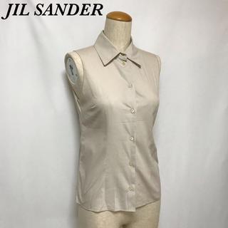 ジルサンダー(Jil Sander)のJIR SANDER ジルサンダー ノースリーブ シャツ ベスト トップス (シャツ/ブラウス(半袖/袖なし))