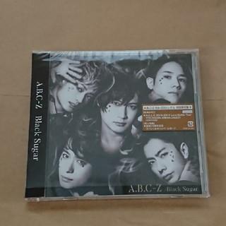 エービーシーズィー(A.B.C.-Z)のA.B.C-Z black sugar 初回限定盤B(アイドルグッズ)