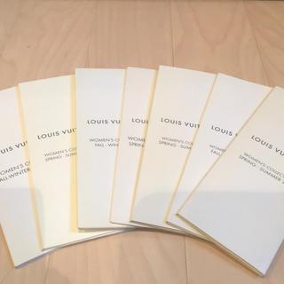 ルイヴィトン(LOUIS VUITTON)のルイヴィトン プレタポルテ コレクションカタログ非売品(ファッション)