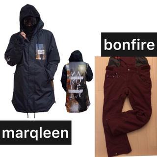marqleen マークリーン ジャケット bonfire パンツセット