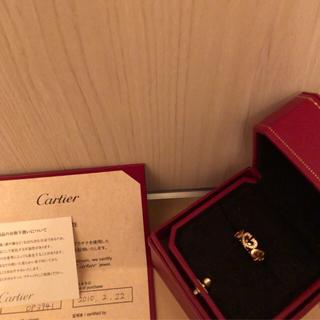 カルティエ(Cartier)のカルティエ CハートK18ダイヤ(リング(指輪))