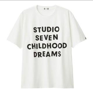 ジーユー(GU)のヘビーウェイトビックT STUDIO SEVEN(GU)(Tシャツ/カットソー(半袖/袖なし))