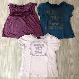 044429528fd53 アナスイミニ(ANNA SUI mini)のアナスイミニ ANNA SUI mini Tシャツ 80