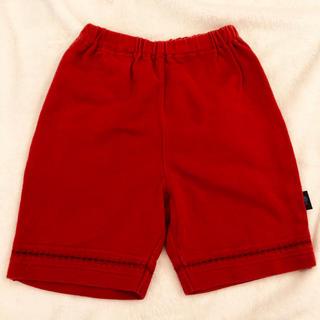 ファミリア(familiar)のファミリア 赤いハーフパンツ 80(パンツ)