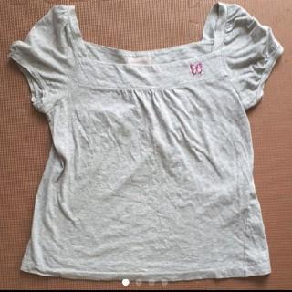 ワールドワイドラブ(WORLD WIDE LOVE!)のグレーのTシャツ WORLD WIDE LOVE!(Tシャツ(半袖/袖なし))