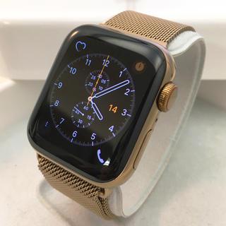 Apple Watch - 最新モデル Apple Watch series4 ゴールドステンレス