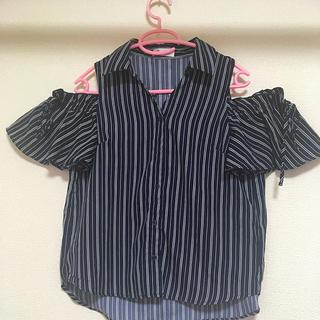 バイバイ(ByeBye)の美品 オフショルトップス夏用(カットソー(半袖/袖なし))