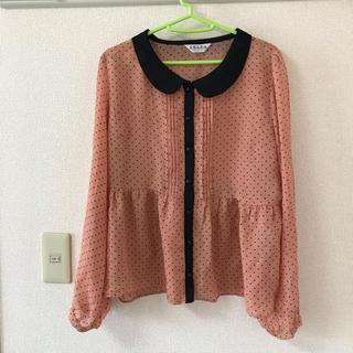 コルザ(COLZA)の【コルザ】かわいいドットシャツ(シャツ/ブラウス(長袖/七分))