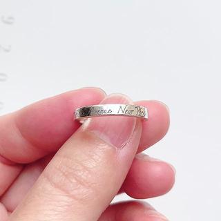 ティファニー(Tiffany & Co.)のティファニー   ノーツナロー リング  9号(リング(指輪))