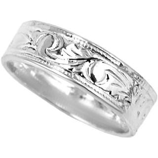 スクロールピンキーファランジリング(ミディリング)【ring ルピス】/シルバー(リング(指輪))