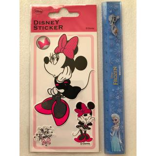 ディズニー(Disney)のミニー 貼ってはがせるステッカー シール(シール)
