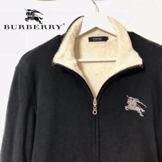 バーバリー(BURBERRY)の【美品】Burberry ボアブルゾン(ブルゾン)