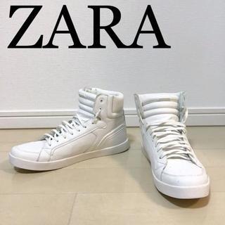 ZARA - 本日価格☆ZARA ハイカットスニーカー