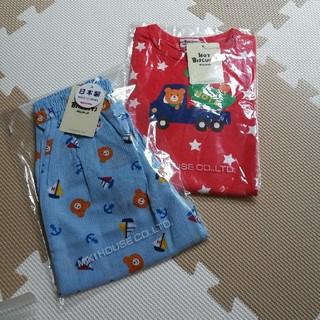 HOT BISCUITS - ホットビスケッツ Tシャツズボンセット 90