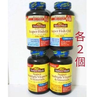 大塚製薬 - ネイチャーメイド スーパーマルチビタミンミネラル2 スーパーフィッシュオイル2