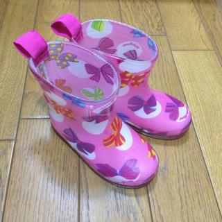 ムージョンジョン(mou jon jon)のmjj♥️レインブーツ13.0cm(長靴/レインシューズ)