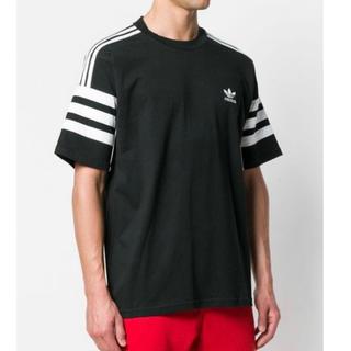 アディダス(adidas)の新品 アディダス アディダス オリジナルス オーセンティック Tシャツ ブラック(Tシャツ/カットソー(半袖/袖なし))
