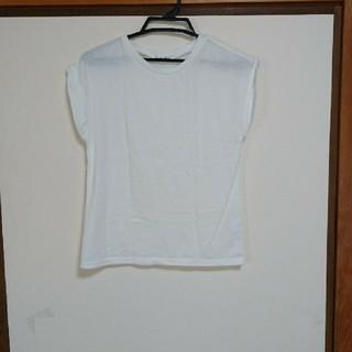 シマムラ(しまむら)の白Tシャツ(Tシャツ(半袖/袖なし))