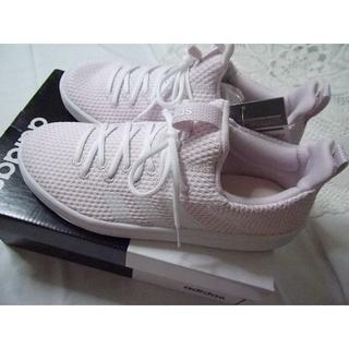 アディダス(adidas)の新品★アディダス adidas CF VALCLEAN ADPT ピンク(スニーカー)