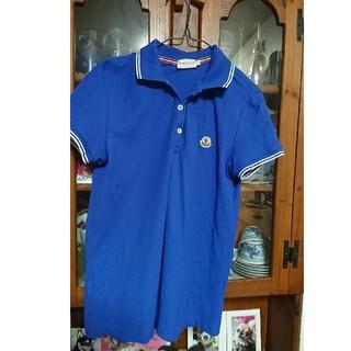 モンクレール(MONCLER)のモンクレール レディースポロシャツ美品(ポロシャツ)