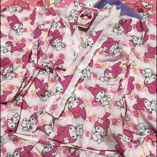 マイメロディ(マイメロディ)の未使用☆マイメロディ☆浴衣  お祭りに  サンリオ(甚平/浴衣)