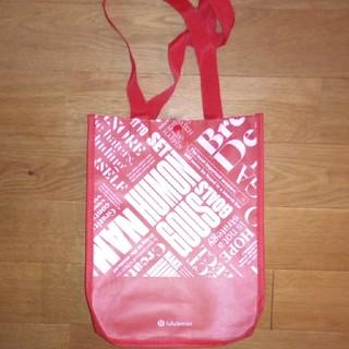 ルルレモン(lululemon)のルルレモン lululemon  エコバッグ ショップ袋(ショップ袋)
