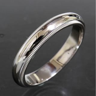 ティファニー(Tiffany & Co.)のティファニー TIFFANY&CO.ミルグレイン リング 20号 仕上済(リング(指輪))
