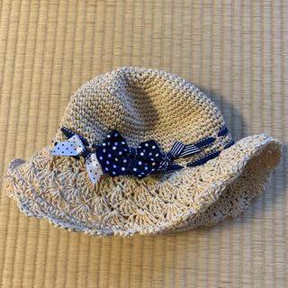 マザウェイズ(motherways)のマザーウェイズ 麦わら帽子 54センチ(帽子)