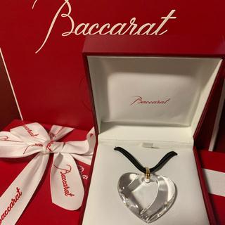 Baccarat - 定価約4万円◟̽◞̽ ༘*極美品❤Baccarat ハートペンダント✩.*˚