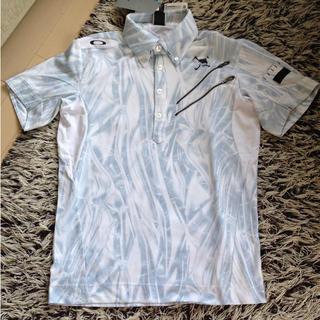 Oakley - タグ付!定価14040円!高機能オークリースカルゴルフシャツMサイズ