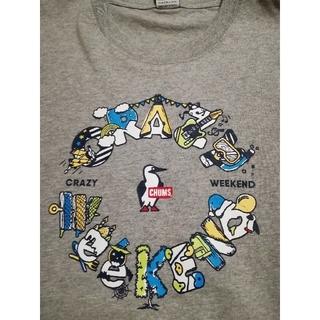 チャムス(CHUMS)のとっと様専用CHUMS 今季最新作Crazy Weekend T グレー+二点(Tシャツ/カットソー(半袖/袖なし))