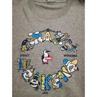 チャムス(CHUMS)のきなこ&あんこ様専用CHUMS/Crazy Weekend T グレーXL未使用(Tシャツ/カットソー(半袖/袖なし))