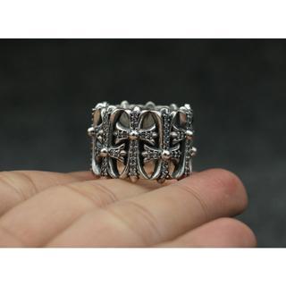 クロムハーツ(Chrome Hearts)のK149クロムハーツセメタリーリング ダイヤ(リング(指輪))