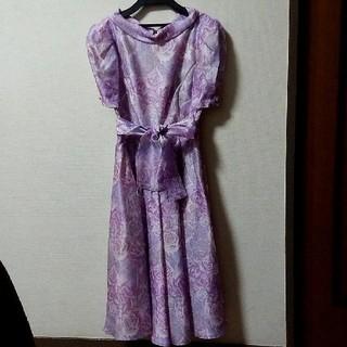 フォーマル ワンピースドレス(ミディアムドレス)