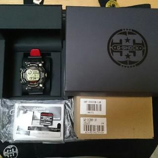 ジーショック(G-SHOCK)のほぼ新品 GWF-D1035B-1JR 35周年 フロッグマン プライスタグ有(腕時計(デジタル))