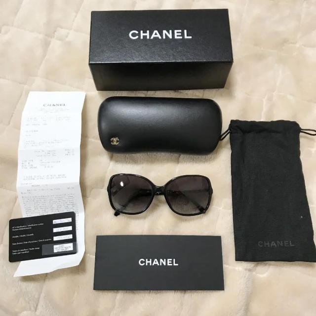 9efdeb17620e CHANEL(シャネル)のCHANEL サングラス グアム マトラッセ レディースのファッション小物(サングラス/
