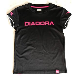ディアドラ(DIADORA)のDIADORA テニスウェア M 黒(Tシャツ(半袖/袖なし))