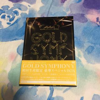 AAA - AAA  gold symphony  初回限定版