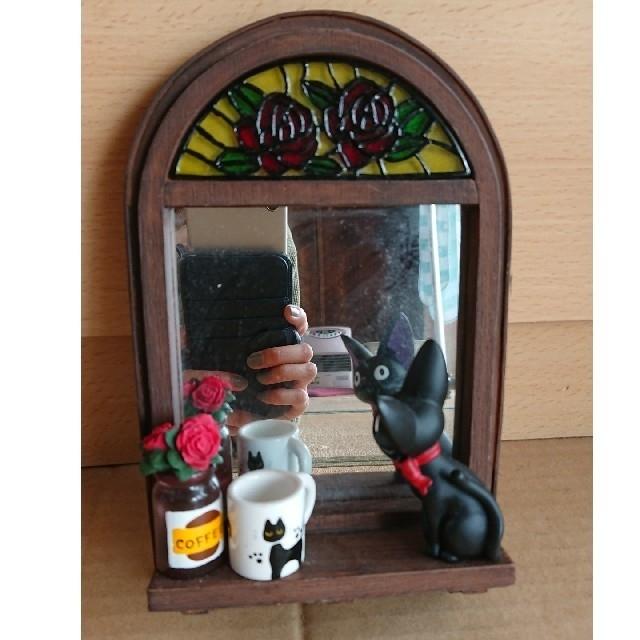 ジブリ(ジブリ)の魔女の宅急便 スタンドミラー ものおもいの窓辺 インテリア/住まい/日用品のインテリア小物(スタンドミラー)の商品写真