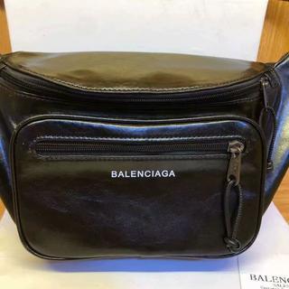 バレンシアガ(Balenciaga)の新品・未使用バレンシアガ レザー ボディバッグ(ボディーバッグ)