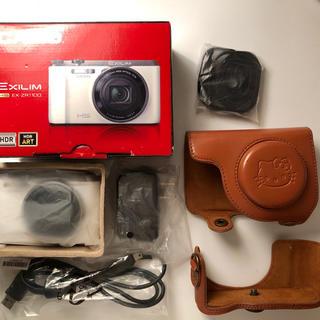 カシオ(CASIO)のCasioEX-ZR1100  デジカメ セット (コンパクトデジタルカメラ)