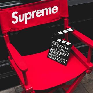 シュプリーム(Supreme)の未開封 Supreme Director's Chair Red 椅子(折り畳みイス)