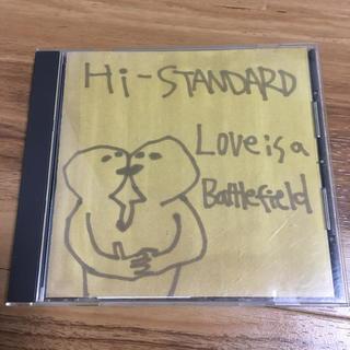 ハイスタンダード(HIGH!STANDARD)のHi-STANDARD/Love Is A Battlefield(ポップス/ロック(邦楽))