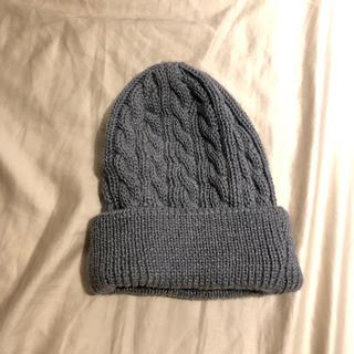ユナイテッドアローズ(UNITED ARROWS)の早い者勝ち・値下げ【新品未使用】UA ニット帽 made in Italy(ニット帽/ビーニー)