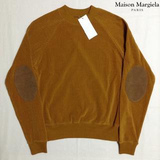 マルタンマルジェラ(Maison Martin Margiela)の新品■48■マルジェラ■17aw■コーデュロイエルボーパッチスウェット■5864(スウェット)