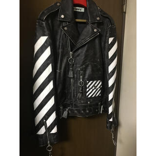 OFF-WHITE - off-white ダブルライダース