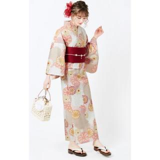 グレイル(GRL)の4点セット菊牡丹浴衣(浴衣)