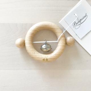 Bonpoint - 新品✦1点のみ Bonpoint 木製 ラトル がらがら